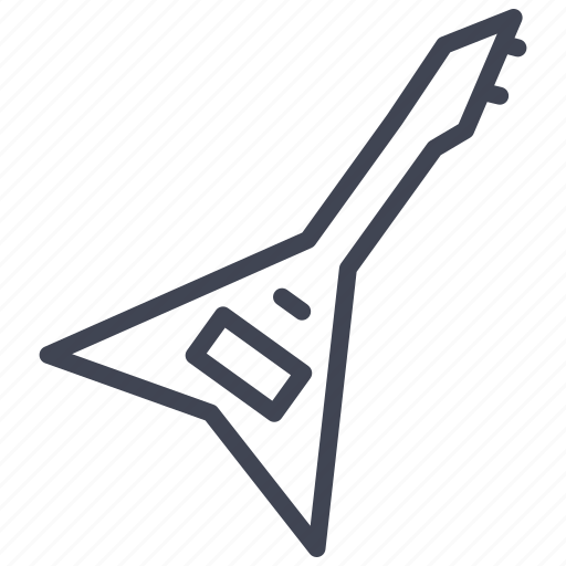 audio, electric, guitar, instrument, multimedia, music, sound icon