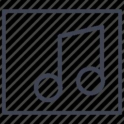 album, audio, media, multimedia, music, sound icon