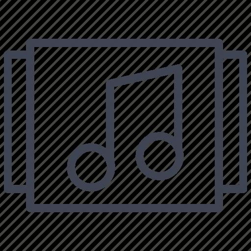 Album, music, selection, audio, media, multimedia, sound icon - Download on Iconfinder