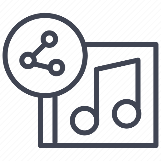 Album, music, share, audio, media, multimedia, sound icon - Download on Iconfinder