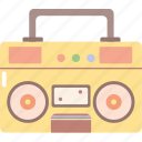 media, music, sound, tape recorder icon