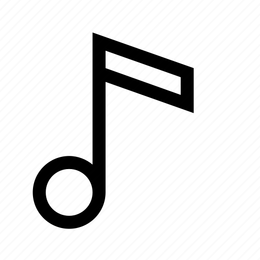 expand, line, music, musical, note icon