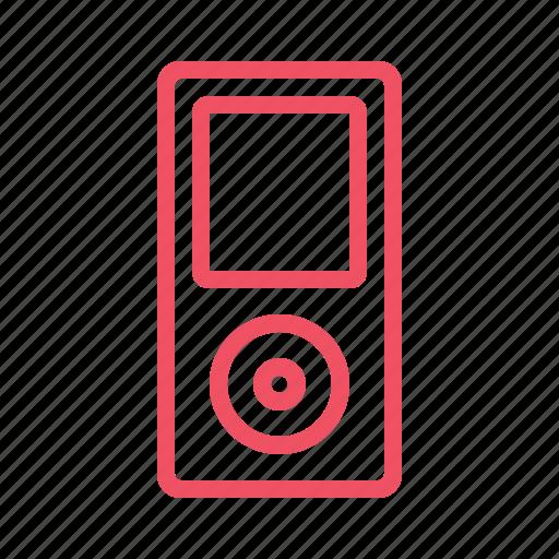 audio, ipod, mp3, music icon