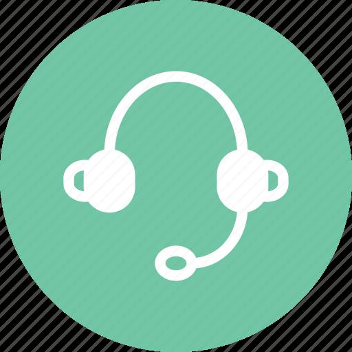 call center, earphones, headphones, kit icon