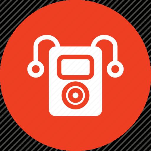 headphones, ipod, listen, music icon