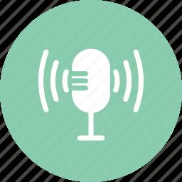 karaoke, mic, microphone, sing, singer icon