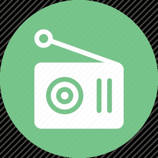 fm, listen, machine, radio, stations icon