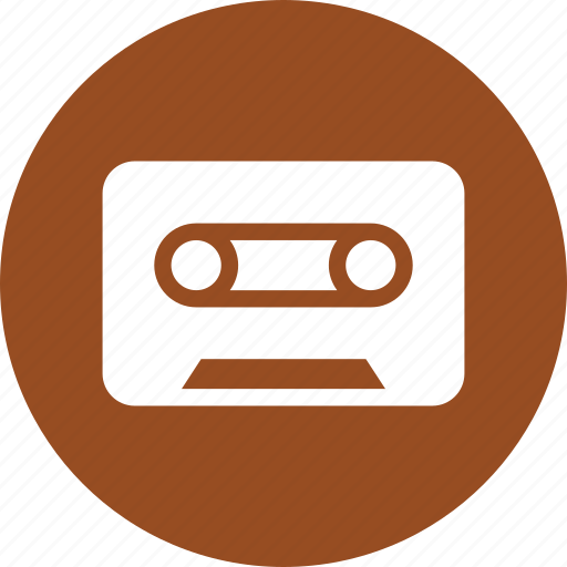 audio, cassette, cassette tape, play, tape icon