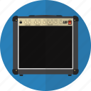 amp, amplifier, audio, guitar, speaker icon