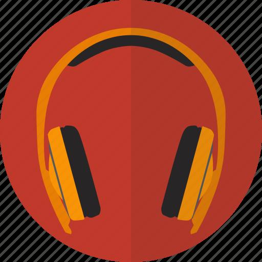 audio, headphone, headset, media, music, play, sound icon