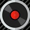 audio, disk, media, music, sound, vinyl icon