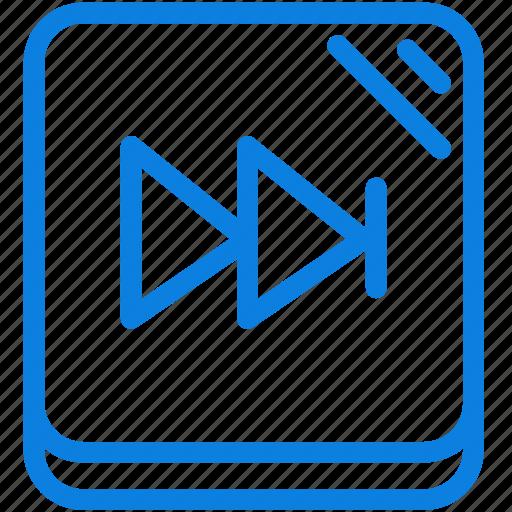 audio, line, media, music, next, player, sound icon