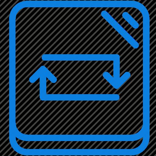 audio, line, media, multimedia, music, repeat, sound icon