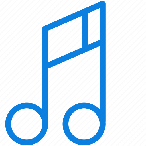 audio, line, media, multimedia, music, music note, note, sound icon
