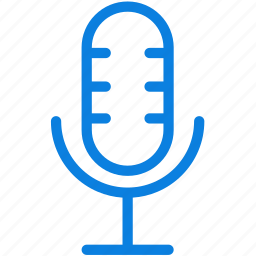 audio, line, microphone, music, record, sound, studio icon
