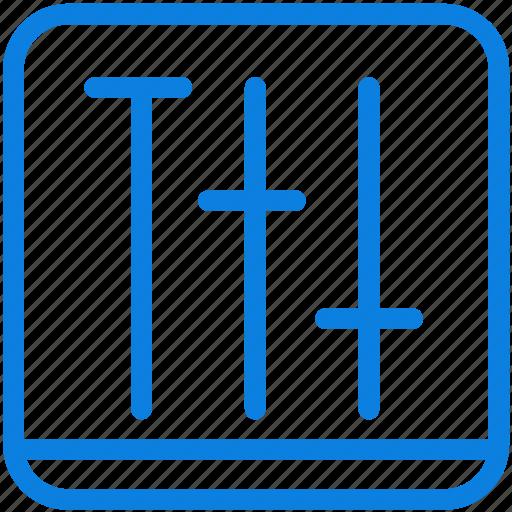 adjustment, audio, line, media, music, sound icon