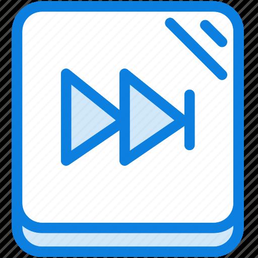 audio, blue, icons, light, media, multimedia, music, next, sound icon