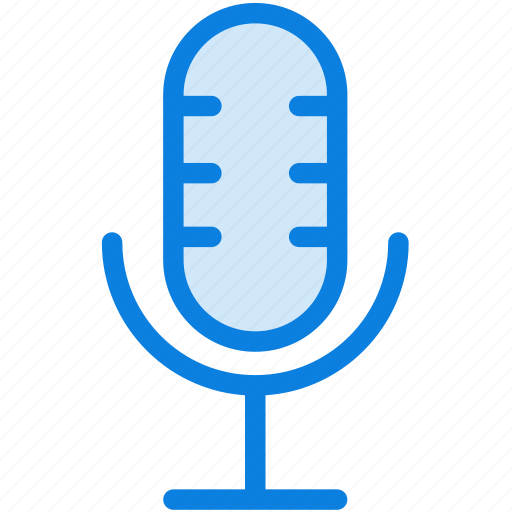 audio, blue, icons, light, media, microphone, multimedia, music, record, sound icon