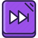 audio, colored, icons, media, multi, multimedia, music, next, sound icon