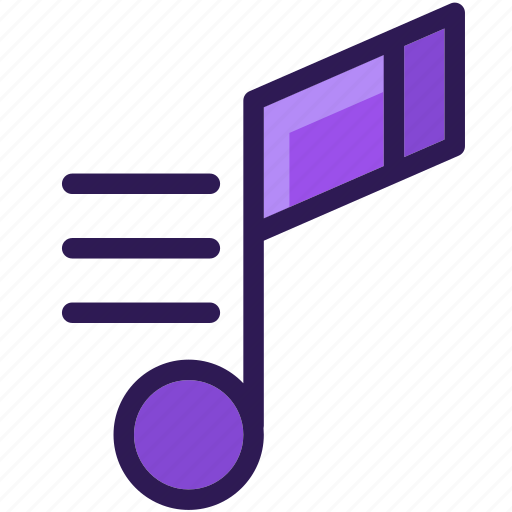audio, colored, icons, multi, music, music note, note, sound icon