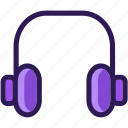 colored, headphone, headphones, icons, media, multi, multimedia, music, sound icon