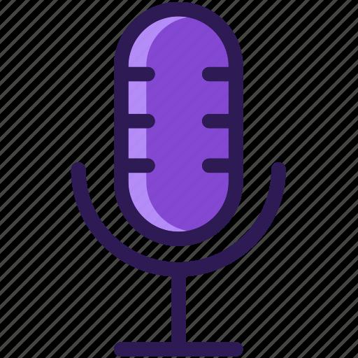 colored, icons, media, microphone, multi, multimedia, music, record, sound icon