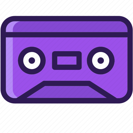 casette, cassette, colored, icons, multi, music, sound icon
