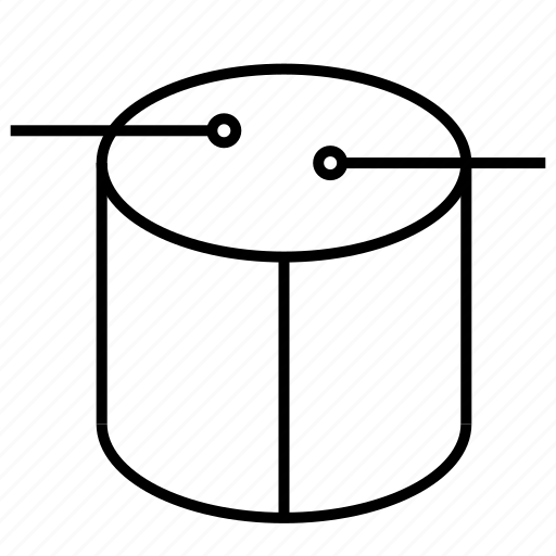 barrel, drum, instrument, music icon