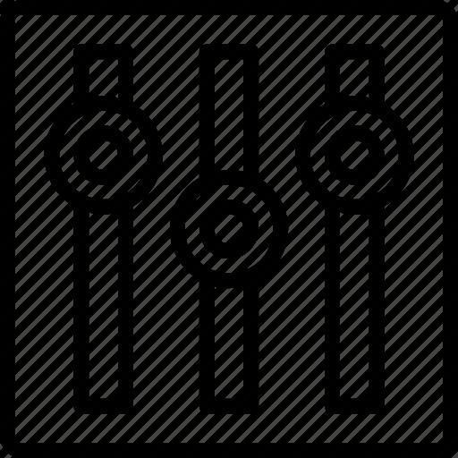 Equalizer, media, music, musical, sound icon - Download on Iconfinder