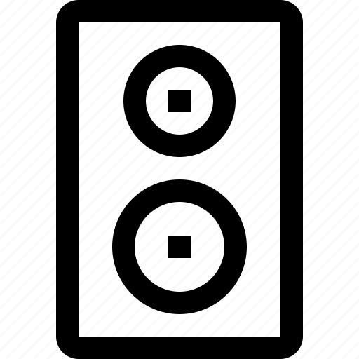 audio, music, sound, speaker, voice icon