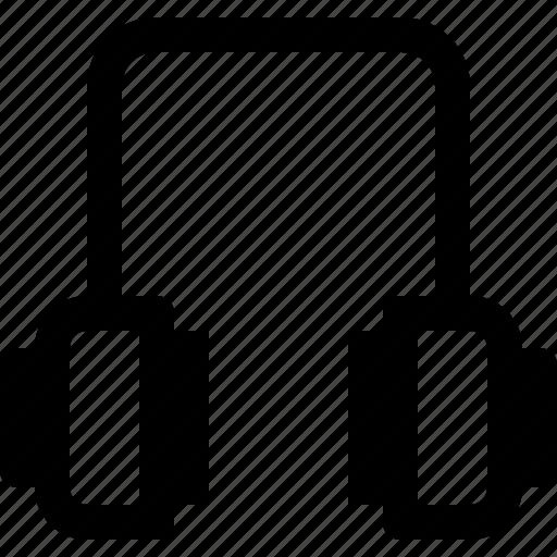 audio, headphone, media, music, musical, sound icon