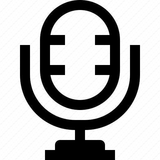 audio, media, mic, music, musical, sound icon