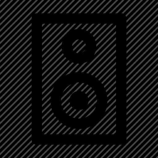 audio, music, sound, speaker, video, volume icon