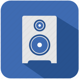 app, classic, home, music, program, sound, speaker icon
