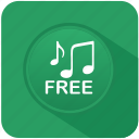 app, free, music, mute, program, sound icon