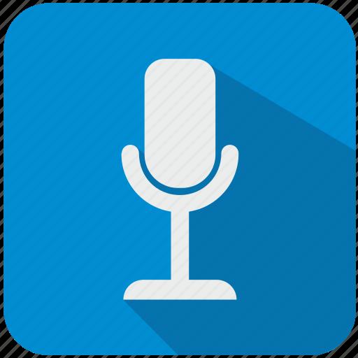 app, microphone, music, program, sound icon