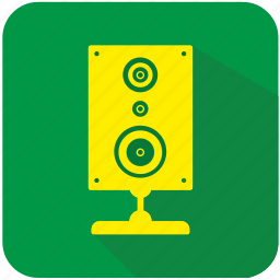 acoustic, app, music, program, sound, speaker icon