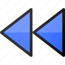 backward, interface, music, media