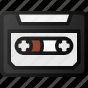 casette, retro, music icon