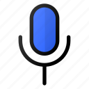 microphone, simple, interface, sound, voice