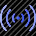 radio, waves, signal, fm