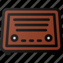 retro, radio, music, fm