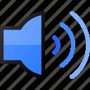 speaker, sound, music, volume