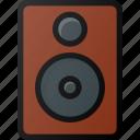 studio, speaker, sound