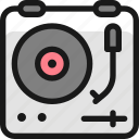 record, vinyl, player