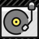 vinyl, record, player