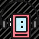 walkman, headphones
