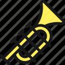 trumpet, instrument