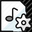 audio, file, settings
