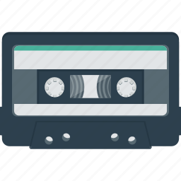 audio, cassette, cassette tape, listen, music, retro, tape icon